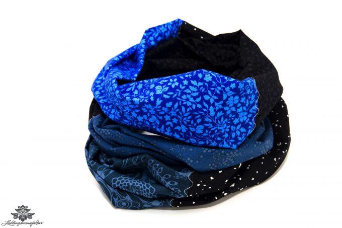 Blaues Tuch