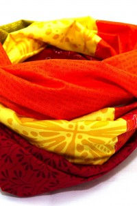 Bunte Schals