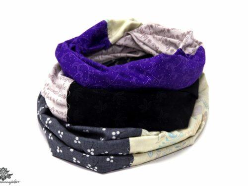 Damen Schals grau bunt