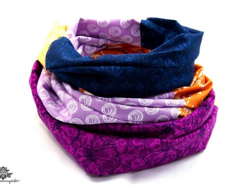 Damen Schals lila blau