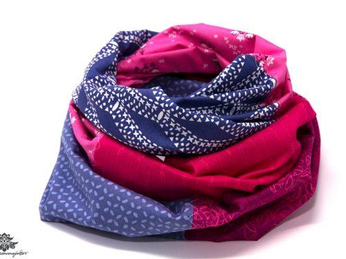 Damen Schals pink blau