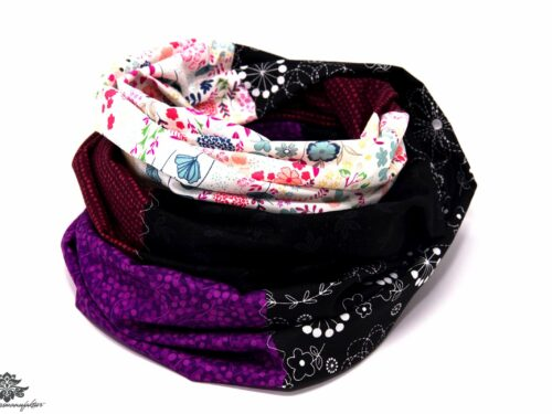 Damen Schals weiss bunt