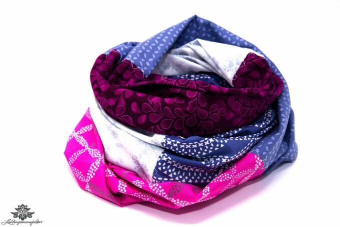 Designer Loop Schals bunt