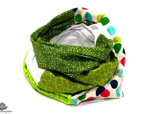 Loop Schal Sommer grün