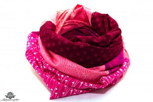 Loop Schal Sommer pink
