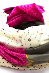 Loop Schal grau beige