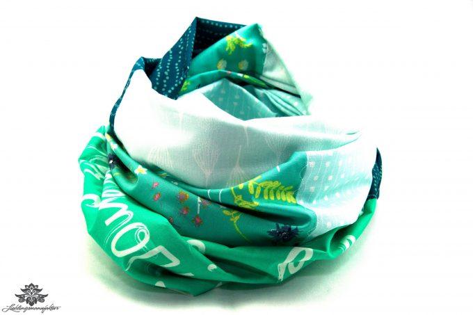 Loop Schal mintgrün Lieblingsmanufaktur