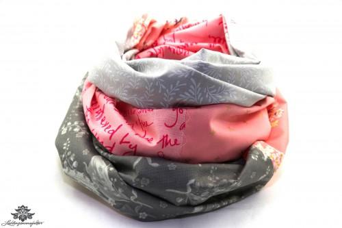 Loop Schal rosa pink