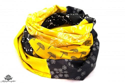 Schal schwarz gelb