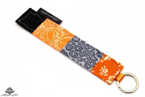 Schlüssel wieder finden Schlüsselanhänger orange grau