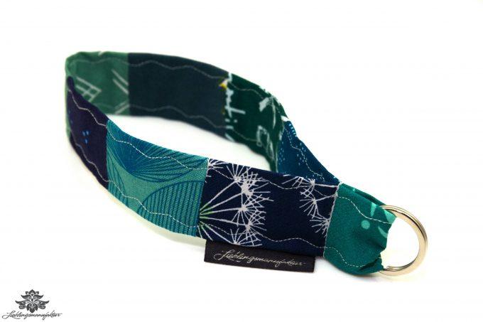 Schlüsselband Arm blau türkis grün