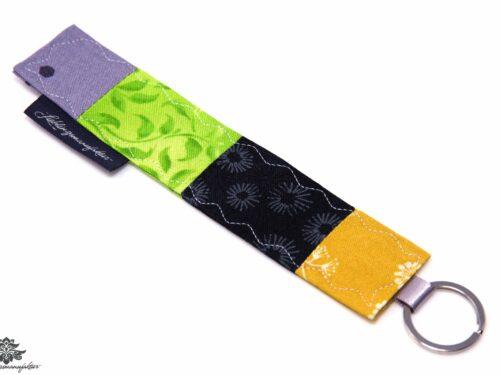 Schlüssel wieder finden Schlüsselanhänger gelb grün