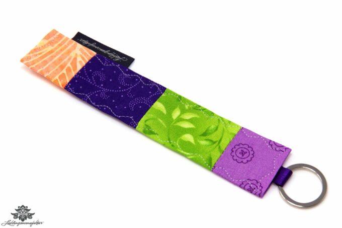 Schlüssel wieder finden Schlüsselanhänger lila grün