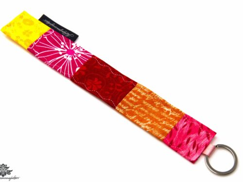 Schlüsselanhänger pink rot