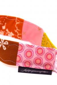 Schluesselband Stoff rosa