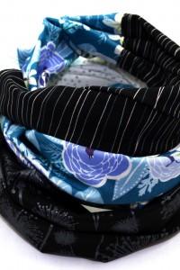 Tuch blau schwarz weiss Lieblingsmanufaktur