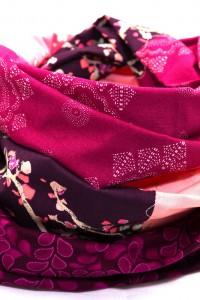 Tuch pink weiss