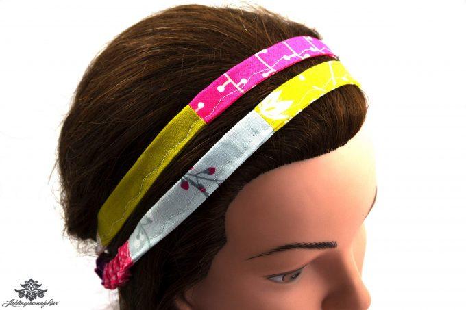Buntes Haarband
