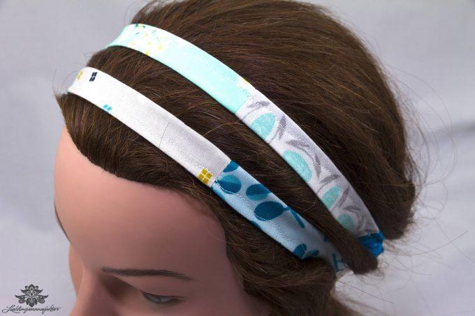 Haarband blau türkis