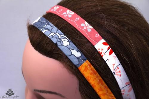 Haarband-bunt