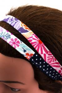Haarband geblümt