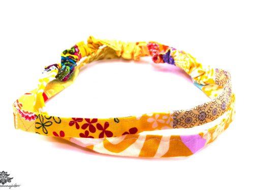 Haarband gelb