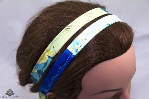 Haarband grün türkis