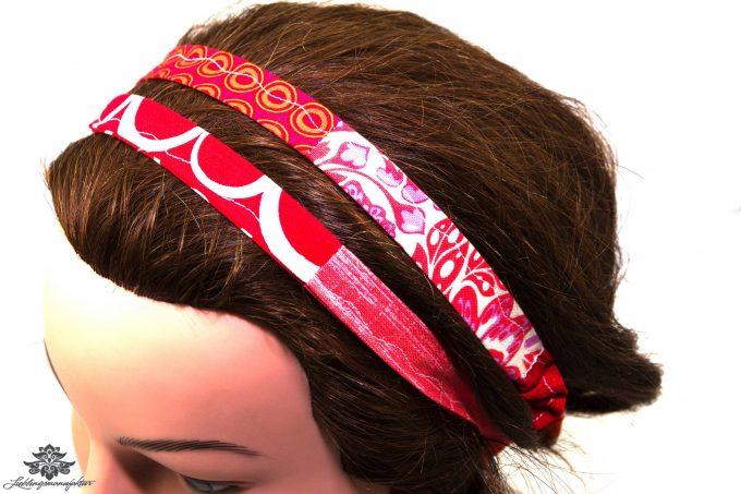 Haarband rot orange