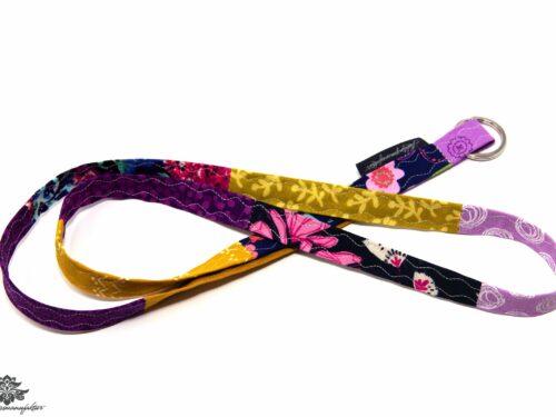 Schlüsselband schmal lila