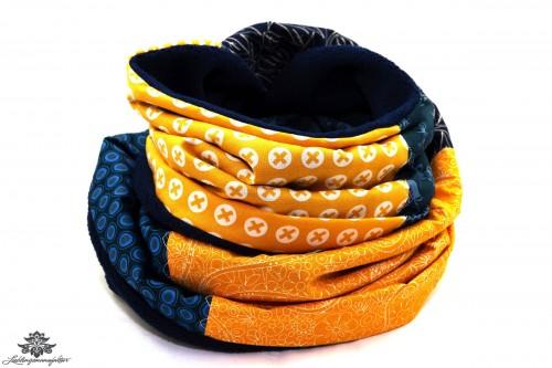 Fleece-Winter-Schal