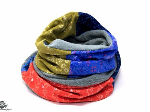 Schal grün dunkelblau