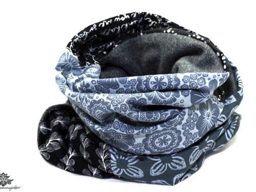 Schwarzer Schal