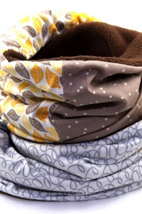 Winter-Schal Damen beige
