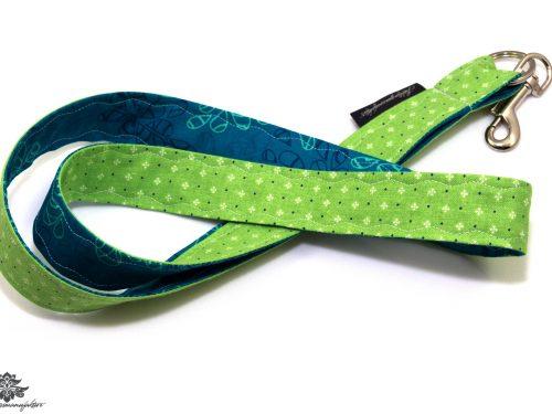 Schlüsselband grün türkis
