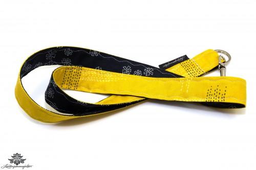 Schluessel verloren Schluesselband gelb schwarz