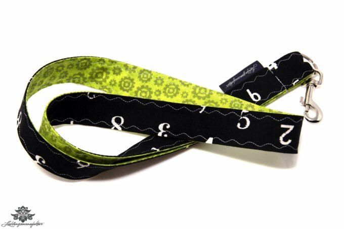 Schlüsselband schwarz grün