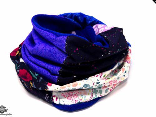 Winter Schal Damen lila