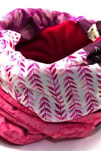 Winterschal Damen rosa pink