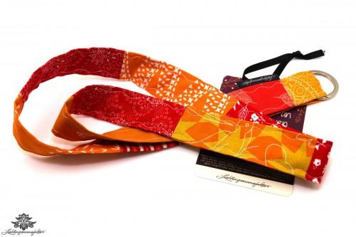 Schlüssel wiederfinden Schlüsselband rot orange