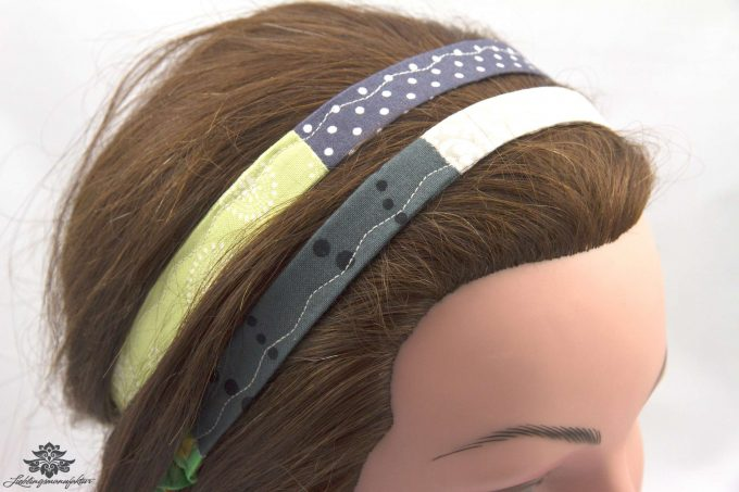 Haarband tragen