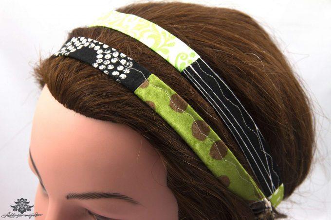 Stoff Haarband bunt