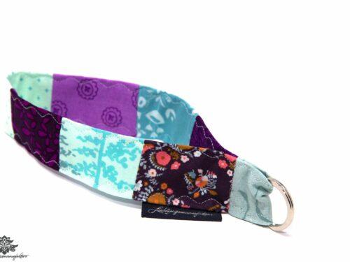 Lanyard Arm lila hellblau