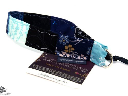 Lanyard Handgelenk schwarz blau