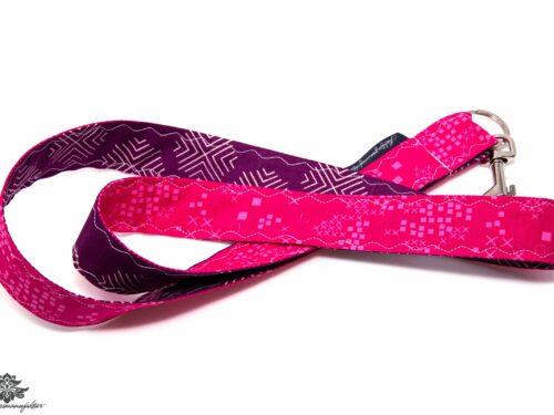 Lanyard Karabiner lila pink.jpg