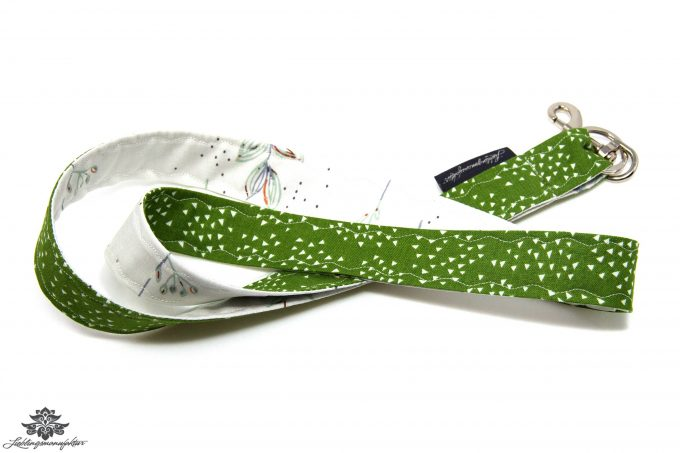 Lanyard Schlüsselband grün weiss