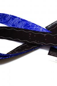 Lanyard Schlüsselband royalblau braun
