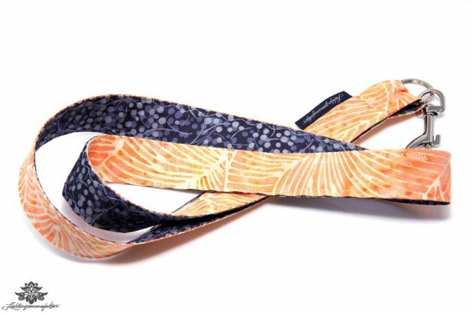 Lanyard Schlüsselband apricot grau