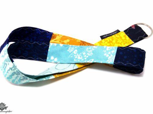 Lanyard Schlüsselband blau