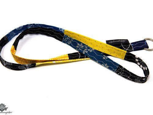 Lanyard blau gelb