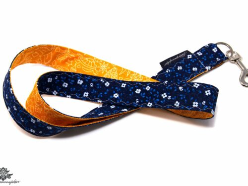 Lanyard blau orange